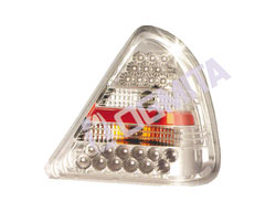 Mercedes-Benz W202 93.06- galinis žibintas kompl.chrom.LED tuning D/K