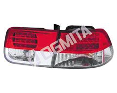 Honda Civic 95.09-98.09 galinis žibintas kompl.coupe LED tuning D/K