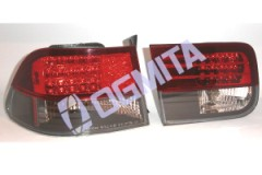 Honda Civic 95.09-98.09 galinis žibintas kompl.tams.coupe LED tuning D/K