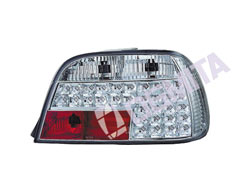 BMW 7 E38 94.06-02 galinis žibintas kompl.chrom.LED tuning D/K